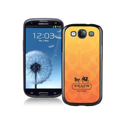 Coach In Signature Orange Samsung Galaxy S3 9300 BGS