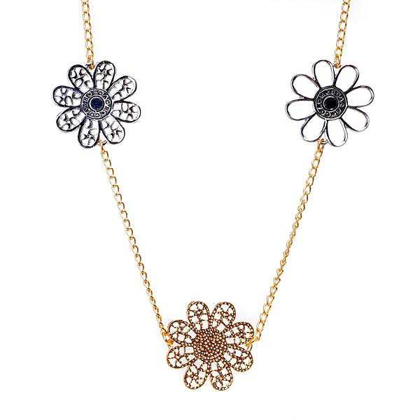 Coach Flowers Gold Necklaces ALP